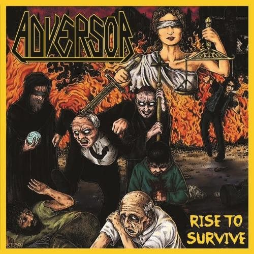 Adversor - Rise to Survive CD