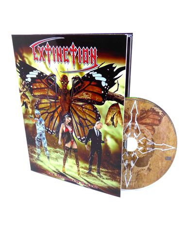 Extinction - The Monarch Slaves DIN A5 DIGI CD Limited