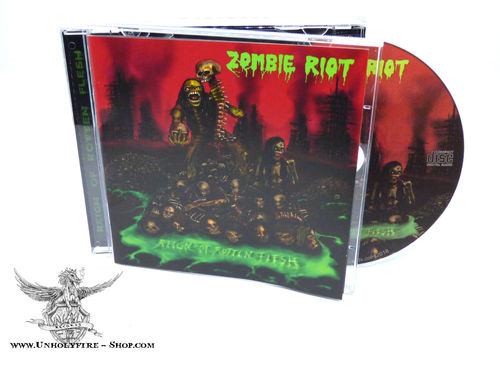Zombie Riot - Reign of Rotten Flesh CD