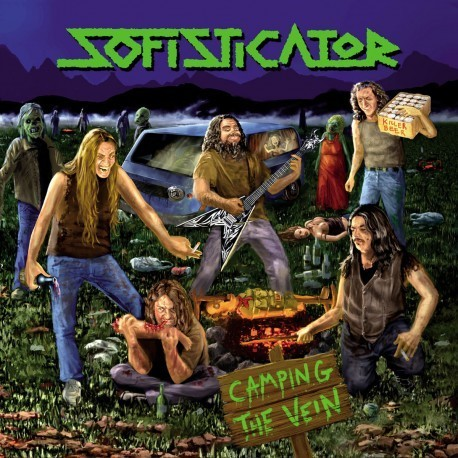 "Sofisticator - Camping the Vein LP ""12"