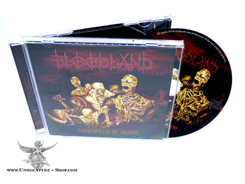 Bloodland - Chronicles of Death CD
